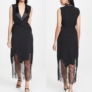 NWT Self-Portrait Sleeveless Tailored Dress